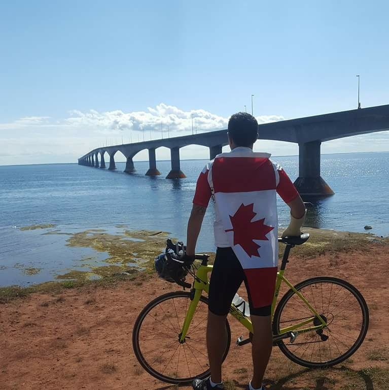 The Guardian – Cycling tour brings drug addiction film project to Prince Edward Island