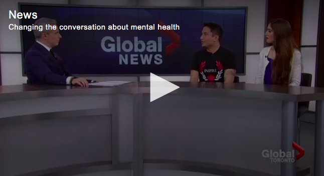 Global News – Changing the conversation about Mental Health